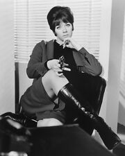 Linda Thorson on Stool the Avengers B&W Poster or Photo
