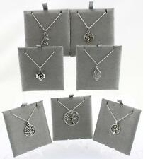 Sterling Silver Toucan Flowers & Plants Pendant & Necklaces various Styles