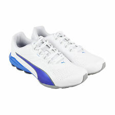 Puma Voltage 180 SL Mens White Synthetic Athletic Lace Up Running Shoes