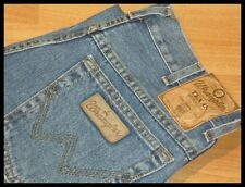 MENS WRANGLER TEXAS STYLE STRETCH DENIM DURABLE JEAN REGULAR FIT STONE WASH BLUE
