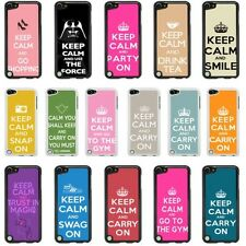 Keep Calm Case Cover for Apple iPod Touch 4 5 4th 5th Generation - 05