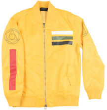 Black Scale Workmens Flight Bomber Nylon Jacket Outerwear BLVCK SCVLE Yellow