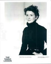 1997 Press Photo Writer Director Actor Sally Potter of The Tango Lesson