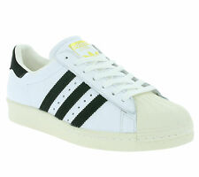 NEW adidas Originals Superstar 80s Shoes Men's Sneakers Trainers White BB2231