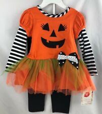 Baby Girls Sweetheart Rose Two-Piece Halloween Outfit