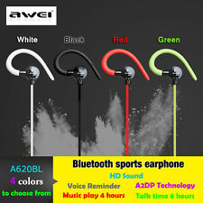 Genuine  Wireless Sport Bluetooth  Earphone  Noise Reduction Headset Stereo MIC