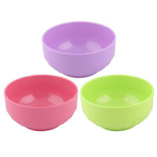 Household Kitchen Plastic Food Rice Salad Porridge Soup Holder Bowl Container