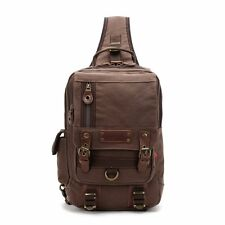 Fashion Travel Canvas Chest Packages Mens Womens Bags Backpack Laptop Bag Retro