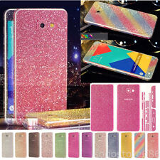 Glitter Bling Full Body Sticker Protector Phone Case Skin For Samsung galaxy