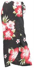Womens Hawaiian Long Skirt Flower Floral Wrap-Around Sarong Hen Party Beach