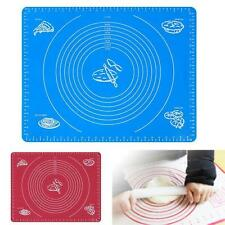 Silicone Rolling Cut Mat Sugarcraft Fondant Cake Clay Pastry Icing Dough Tool #2