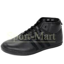 Mens Adidas Originals P-Sole Mid Black Retro Leather Trainers Shoes Mens Size