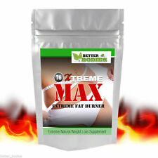 Xtreme MAX™ Strong Fat Burners Diet Weight Loss Strongest Slimming Pills