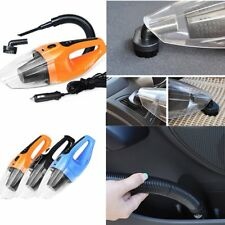 120W 12V Handheld Wet & Dry Vacuum Cleaner Hoover Portable Rechargeable Car GH