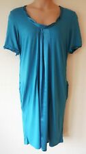 Womens Smock Dress Size 16 22 New Ladies Ann Harvey Teal Green Scoop necked
