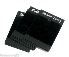 Wholesale Lots Gift Black Earrings Jewellery Display Cards 52x37mm