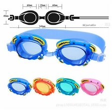 Silicone Kids Swimming Goggles Anti-fog Summer Pool Safety Children Swim Glasses