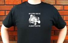 MY OTHER RIDE IS A LAWN TRACTOR RIDING MOWER GRAPHIC T-SHIRT TEE FUNNY CUTE