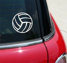 VOLLEYBALL VOLLEY BALL GRAPHIC DECAL STICKER ART CAR WALL DECOR