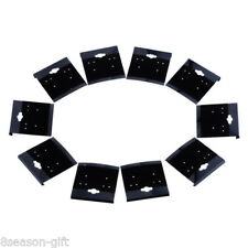 Wholesale HX  Black Plain Hanging Earring Cards With Lip Jewelry Display Hang