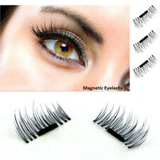 1 Pair 3D Magnetic False Eyelashes Natural Eye Lashes Extension Handmade 4 Pcs