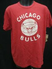 New Chicago Bulls Mens Size S/L/2XL Red Shirt MSRP $30