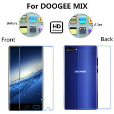 Front&Back HD/Anti Glare Matte Full Screen Protector Film For DOOGEE MIX Lot