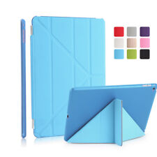 Foldable Magnetic PU Smart Hard Case Cover Protector for iPad5/iPad6/air/air2