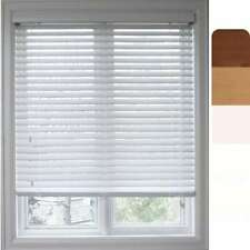 Arlo Blinds Customized Faux Wood 31.5-inch Window Blinds