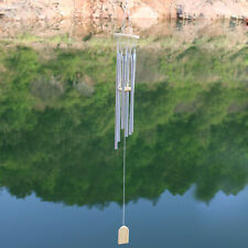 Black Woodstock Chime Metal Windchimes Tuned Handcrafted Wind