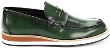 Scarpe Uomo Pelle Verdi Trussardi Shoes Men Leather Green