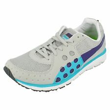 Ladies Puma Gray violet/Violet/blue Lace up Trainer FAAS 300 W