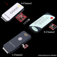 1/4/8-Channel Inching Infrared Receiver Module IR Module 3-5V + Remote Control