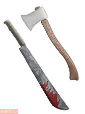 Halloween Weapon Prop Fancy Dress Party Costume Accessory Axe Chopper Scary