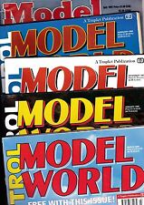 Various Issues of RADIO CONTROL MODEL WORLD Magazine April 1985 to April 2007