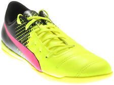 Puma evoPOWER 4.3 Tricks Men's Indoor Soccer Shoes Yellow - Mens  - Size