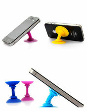 Fashion Silicone Double-sided Suction Cup Holder Sucker Stand For Mobile Phones