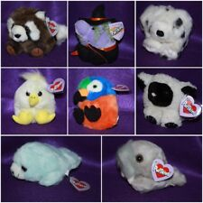 PUFFKINS RETIRED, YOUR CHOICE, RARE, LIMITED EDITION Dog Bear Witch Ghost Etc