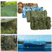 4mx2m Camouflage Net Camo Netting Hunting Shooting Hide Army Woodland Shelter HQ