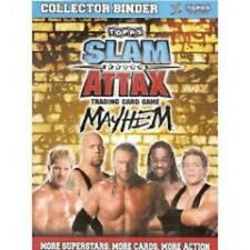 Slam Attax MAYHEM  CHAMPIONSHIP BELT TITLE,GENERAL MANAGER, LIMITED  CARD