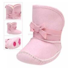 Infant Baby Toddler Shoes Kids Girls Soft Antislip Snow Boots Winter Warm Boots