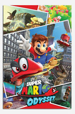Super Mario Odessey Collage Poster New - Maxi Size 36 x 24 Inch