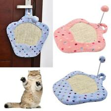 Pet Kitten Cat Scratching Mat Scratcher Pad Cardboard Interaction Play Toy Ball
