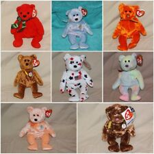 Ty Beanie Baby BABIES BEARS BEAR Stuffed Animal Plush Different-U Choose!Retired