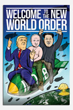 Welcome To The New World Order Poster New - Maxi Size 36 x 24 Inch