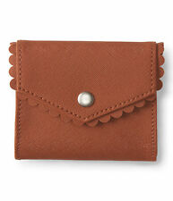aeropostale womens scalloped card holder