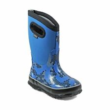 Bogs Kid's Classic Axel Kids' Insulated Boots Blue Multi 72155-460
