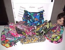 VERA BRADLEY CHOICE OF ONE RETIRED PATTERN ON THE GO PRINT COTTON INSIDE NWT