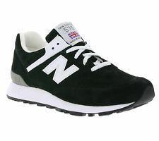 New Balance 576 Ladies Shoes Real Leather Sneaker Black w576kgs Made in England