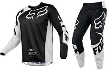 Fox Racing 180 Race Jersey and Pant Combo Black Adult Sizing MX ATV F18A1801